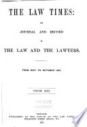 The Law Times  , Volume 43