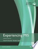 Cover of Experiencing MIS, Global Edition