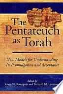 The Pentateuch as Torah