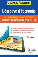 Pdf L'épreuve d'économie aux concours de l'enseignement en sciences économiques et sociales. CAPES/Agreg Telecharger