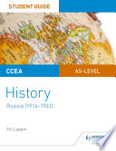 Ccea As Level History Student Guide Russia 1914 1941