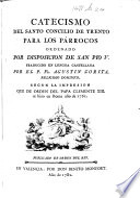 Catecismo del Santo Concilio de Trento ... traducido en lengua castellana por el P. Fr. Agustín Zorita, etc