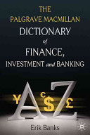 Dictionary of Finance  Investment and Banking