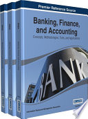 Banking  Finance  and Accounting  Concepts  Methodologies  Tools  and Applications Book