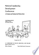 National Leadership Development Conference In Trade And Industrial Education