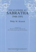 Excavations at Sabratha, 1948-1951