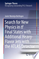 Search for New Physics in tt    Final States with Additional Heavy Flavor Jets with the ATLAS Detector