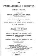 The Parliamentary Debates Hansard Official Report