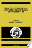 European Symposium On Computer Aided Process Engineering 10 Book PDF