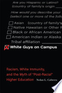 White Guys on Campus