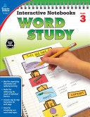 Interactive Notebooks Word Study  Grade 3
