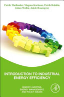 Introduction to Industrial Energy Efficiency