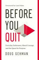Before You Quit Pdf/ePub eBook
