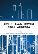 Smart Cities and Innovative Urban Technologies