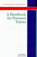 A Handbook for Personal Tutors