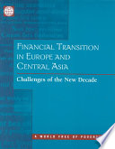 Financial Transition in Europe and Central Asia