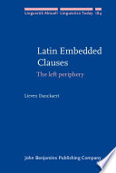 Latin Embedded Clauses