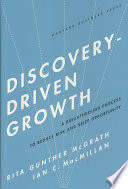 Discovery driven Growth Book