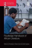 Pdf Routledge Handbook of African Literature