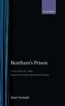 Bentham's Prison : A Study of the Panopticon Penitentiary Pdf