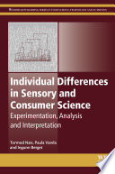 Individual Differences in Sensory and Consumer Science Book