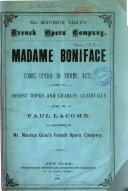 Madame Boniface