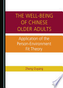 The Well being of Chinese Older Adults