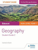 Edexcel A-Level Geography Student Guide 2