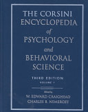 The Corsini Encyclopedia of Psychology and Behavioral Science  Volume 1