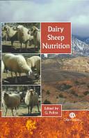 Dairy Sheep Nutrition