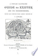 A popular illustrated guide to Exeter and its neighbourhood   With appendix   Book