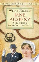What Killed Jane Austen  Book