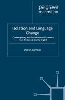 Pdf Isolation and Language Change Telecharger