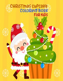 Christmas Cupcake Coloring Book For Kids