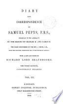 Diary and Correspondence of Samuel Pepys Book PDF