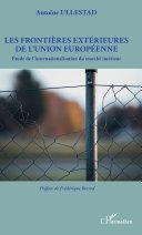 Pdf Les frontières extérieures de l'Union européenne Telecharger