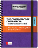 The Common Core Companion: The Standards Decoded, Grades K-2: What ...