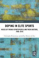 Doping in Elite Sports
