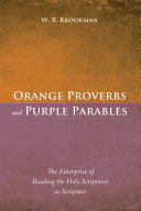 Pdf Orange Proverbs and Purple Parables Telecharger