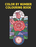Color by Number Colouring Book