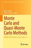 Pdf Monte Carlo and Quasi-Monte Carlo Methods Telecharger