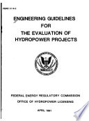 Engineering Guidelines for the Evaluation of Hydropower Projects Book