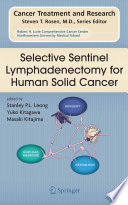 Selective Sentinel Lymphadenectomy for Human Solid Cancer Book