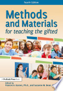 Methods and Materials for Teaching the Gifted Book