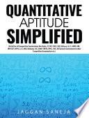 Quantitative Aptitude Simplified