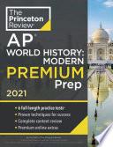 Princeton Review AP World History  Modern Prep 2021
