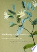 Rethinking Professionalism