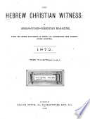 The Hebrew Christian Witness