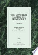 The Complete Harley 2253 Manuscript Volume 2
