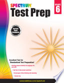 """Spectrum Test Prep, Grade 6"" by Spectrum"